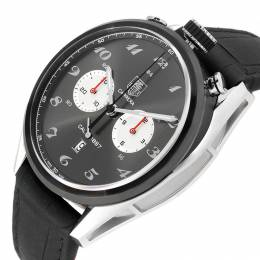 Tag Heuer Black Titanium Carrera 1887 100th Anniversary CAR2C14 Men's Wristwatch 45 MM 231138