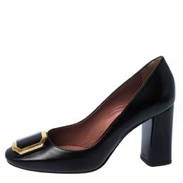 Bally Black Leather Bemmy Pumps Size 37 229803