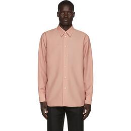 Jil Sander Pink Wool and Mohair Shirt 192249M19200302GB