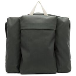 Jil Sander Green Climb Harness Multi Pockets Backpack 192249M16600101GB