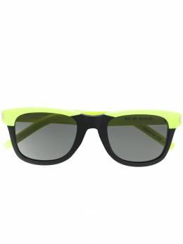 Saint Laurent Eyewear солнцезащитные очки в прямоугольной оправе 419699Y9901