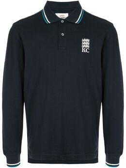 Kent & Curwen рубашка-поло с длинными рукавами K40H8A124039