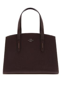 Темно-бордовая сумка Charlie Coach 2219155956