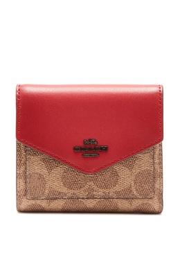 Квадратный кошелек из канваса Signature и кожи Coach 2219156059