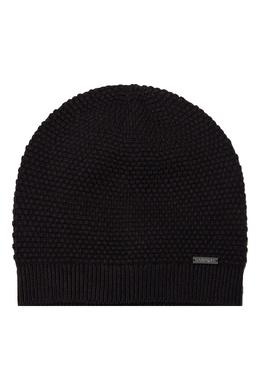 Темно-серая шапка с узором Calvin Klein 596156449