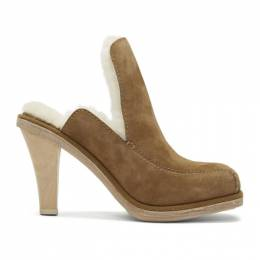 Eckhaus Latta Brown UGG Edition Court Mules 1109889