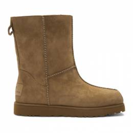 Eckhaus Latta Brown and Off-White UGG Edition Block Boot 192830F11405301GB