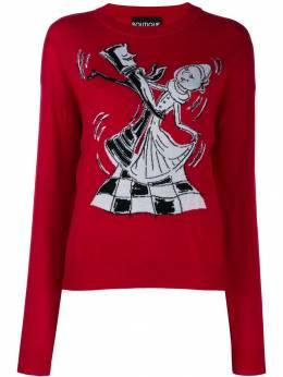 Boutique Moschino свитер Chess Dancers J09266100