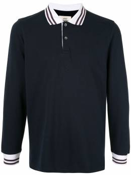 Kent & Curwen рубашка-поло с контрастной отделкой K40H8A114038