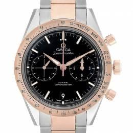 Omega Black 18K Rose Gold And Stainless Steel Speedmaster 331.20.42.51.01.002 Men's Wristwatch 41.5 MM 231857