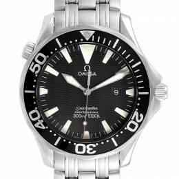 Omega Black Stainless Steel Seamaster Professional 300M 2064.50.00 Men's Wristwatch 41.5 MM 231855