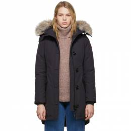 Canada Goose Navy Down Rossclair Parka 192014F06100704GB