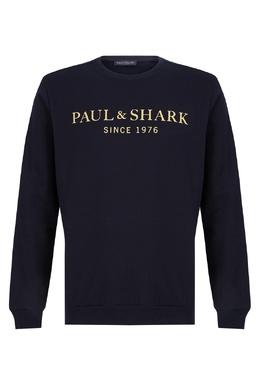 Свитшот с желтым логотипом Paul & Shark 2321156519