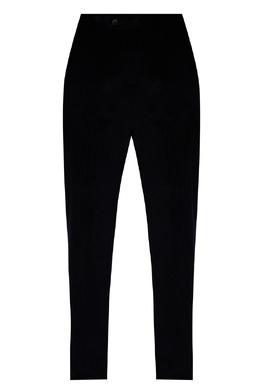 Черные брюки из бархатистой ткани Paul & Shark 2321156512