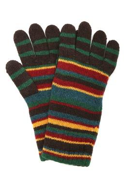 Перчатки в разноцветную полоску Paul Smith 1924156817