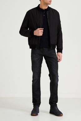 Темно-синие кроссовки с перфорацией Boss 1166156727