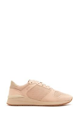 Бежевые кроссовки с перфорацией Boss 1166156722