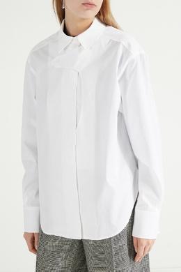 Белая рубашка с длинными рукавами Max Mara 1947156611