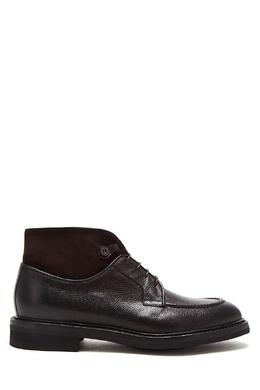 Темно-бордовые ботинки из кожи Barrett 683156668