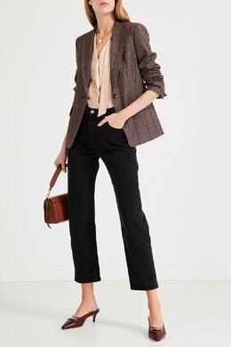 Бежевая блуза с длинными рукавами Max Mara 1947156660