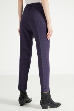 Фиолетовые брюки со стрелками Boss 1166156762