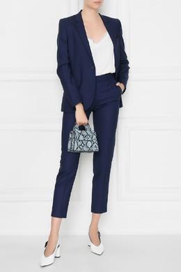 Укороченные синие брюки Paul Smith 1924156767
