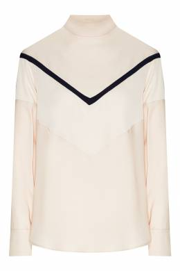 Молочно-белая блуза с длинными рукавами Max Mara 1947156818