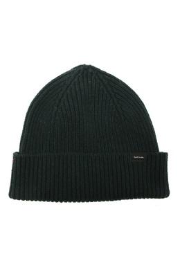 Зеленая вязаная шапка Paul Smith 1924156752