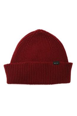 Бордовая кашемировая шапка Paul Smith 1924156759