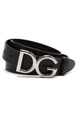 Ремень с пряжкой-логотипом Dolce&Gabbana 599156880