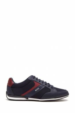 Синие кроссовки Boss 1166156706
