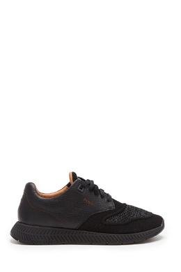 Комбинированные черные кроссовки Boss 1166156709