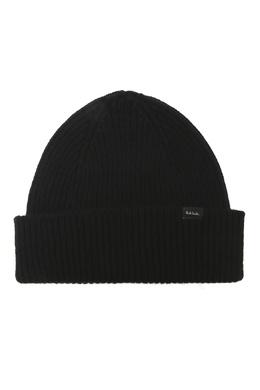 Черная шапка из кашемира Paul Smith 1924156906