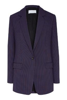 Фиолетовый однобортный пиджак Boss 1166156780