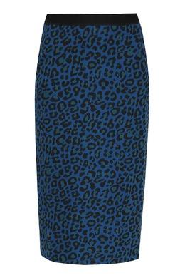 Синяя юбка с принтом Paul Smith 1924156806