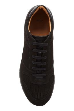 Черные кроссовки на шнуровке Boss 1166156730