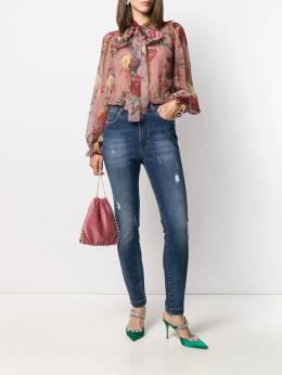 Dolce & Gabbana - блузка с принтом Baroque 95THS96K955569800000