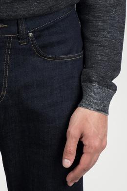 Прямые синие джинсы с декоративной строчкой Strellson 585156994