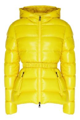 Желтая куртка-пуховик Rhin Moncler 34156774