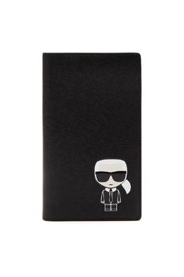Черный чехол для документов с логотипом Karl Lagerfeld 682157070