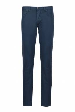 Синие хлопковые брюки Strellson 585156993