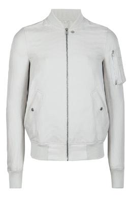 Серая куртка «в рубчик» Rick Owens 43157081
