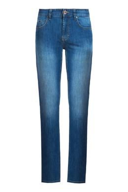 Голубые джинсы с выбеленными бедрами Strellson 585157003
