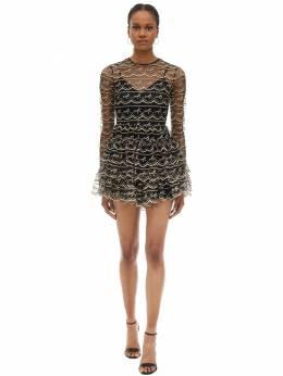 Платье Из Тюля С Вышивкой Alice Mccall 70IRTG004-QkxBQ0s1
