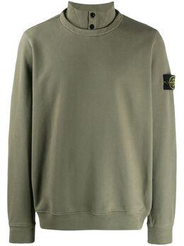 Stone Island свитер с высоким воротником MO711560620