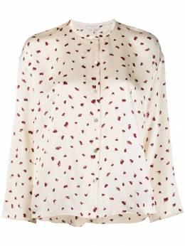 Vince блузка с цветочным принтом V618712213
