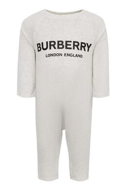 Детский серый комплект Burberry Kids 1253157165