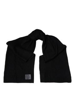 Черный шарф с аппликацией K/Ikonik Karl Lagerfeld 682156974