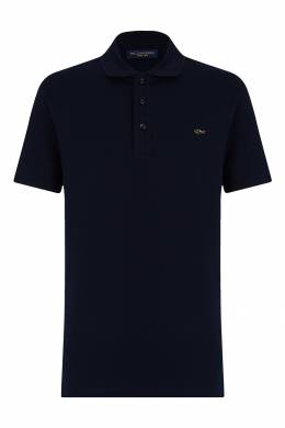 Синее поло с логотипом Paul & Shark 2321156499