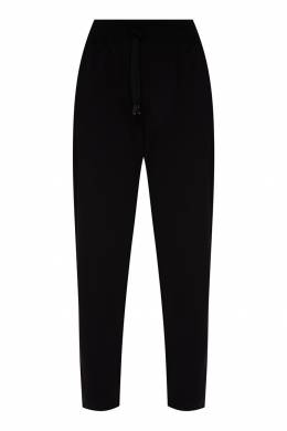 Черные брюки с поясом на кулиске Dolce&Gabbana 599156594